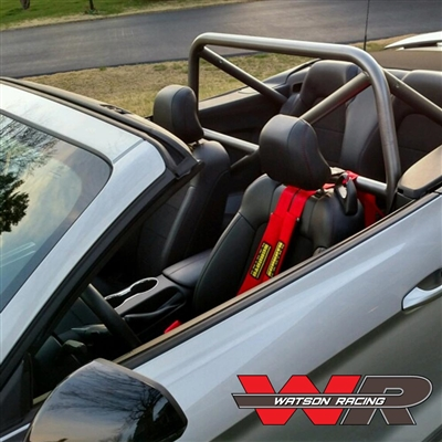 Mustang CONVERTIBLE S550 4-Point Roll Bar - Bolt in Roll ...